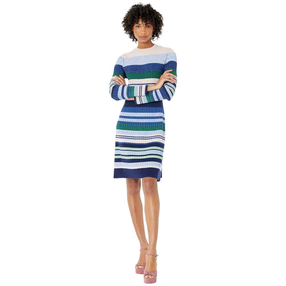 スポーツマックス Sportmax レディース ワンピース ワンピース・ドレス【Pau Knitted Striped Dress】Pink