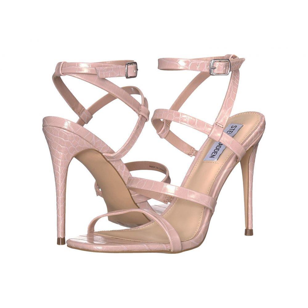 スティーブ マデン Steve Madden レディース サンダル・ミュール シューズ・靴【Rhonda Heeled Sandal】Tan Croco