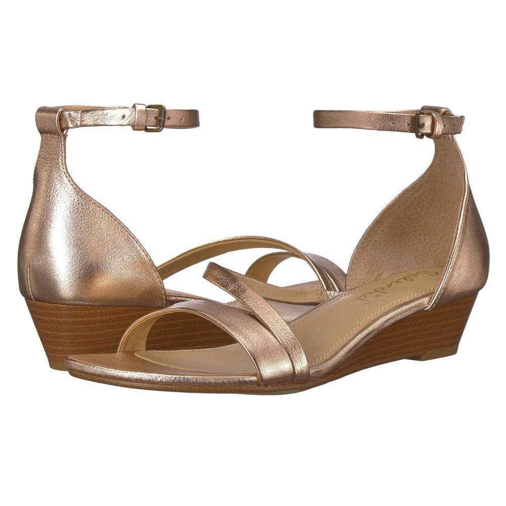 スプレンディッド Splendid レディース サンダル・ミュール シューズ・靴【Stefano】Rose Gold Metallic Tumbled Leather