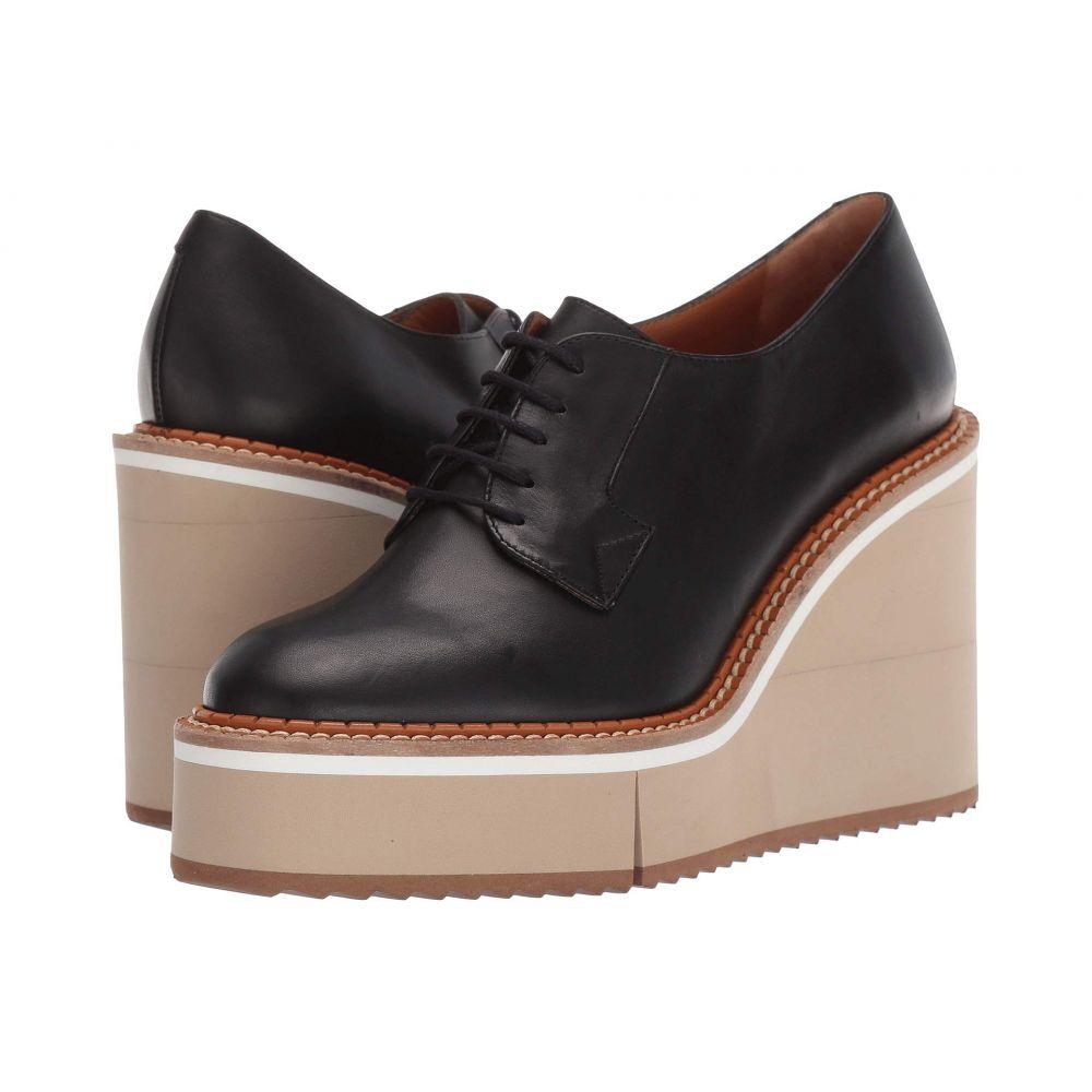 ロベール クレジュリー Clergerie レディース ローファー・オックスフォード シューズ・靴【Brio】Black Calf