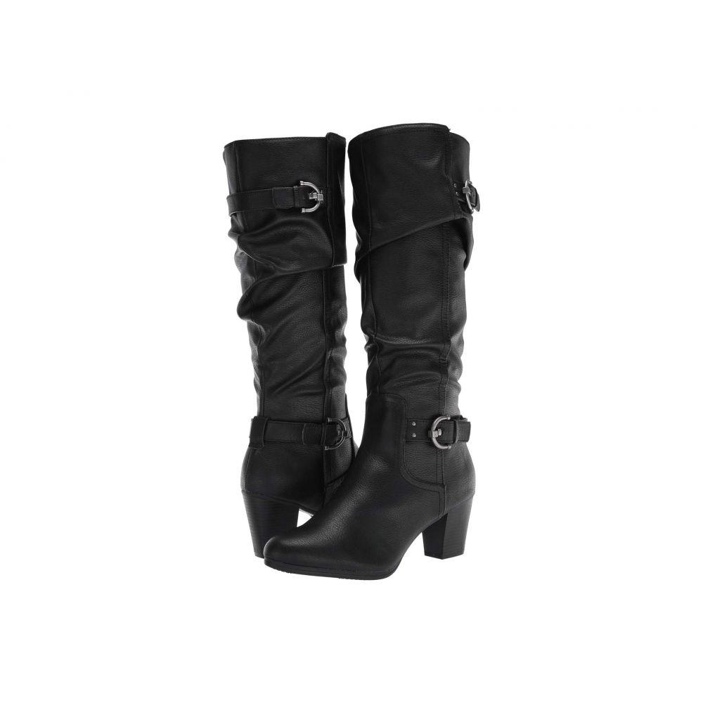 リアルト Rialto レディース ブーツ シューズ・靴【Farewell】Black Smooth