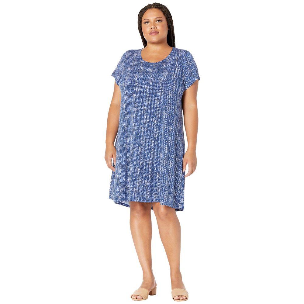 カレンケーン Karen Kane Plus レディース ワンピース 大きいサイズ ワンピース・ドレス【Plus Size Print Maggie Trapeze Dress】Print