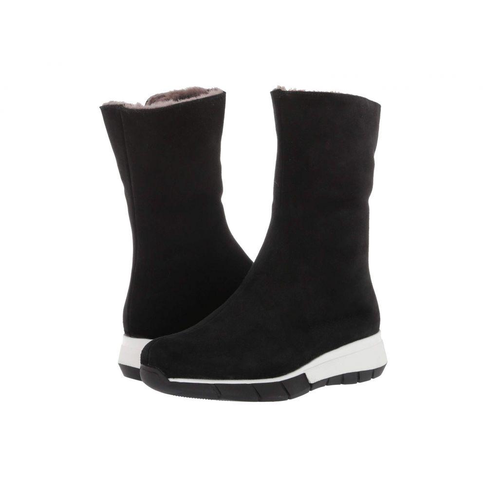 ラ カナディアン La Canadienne レディース ブーツ シューズ・靴【Noah】Black Suede/Shearling