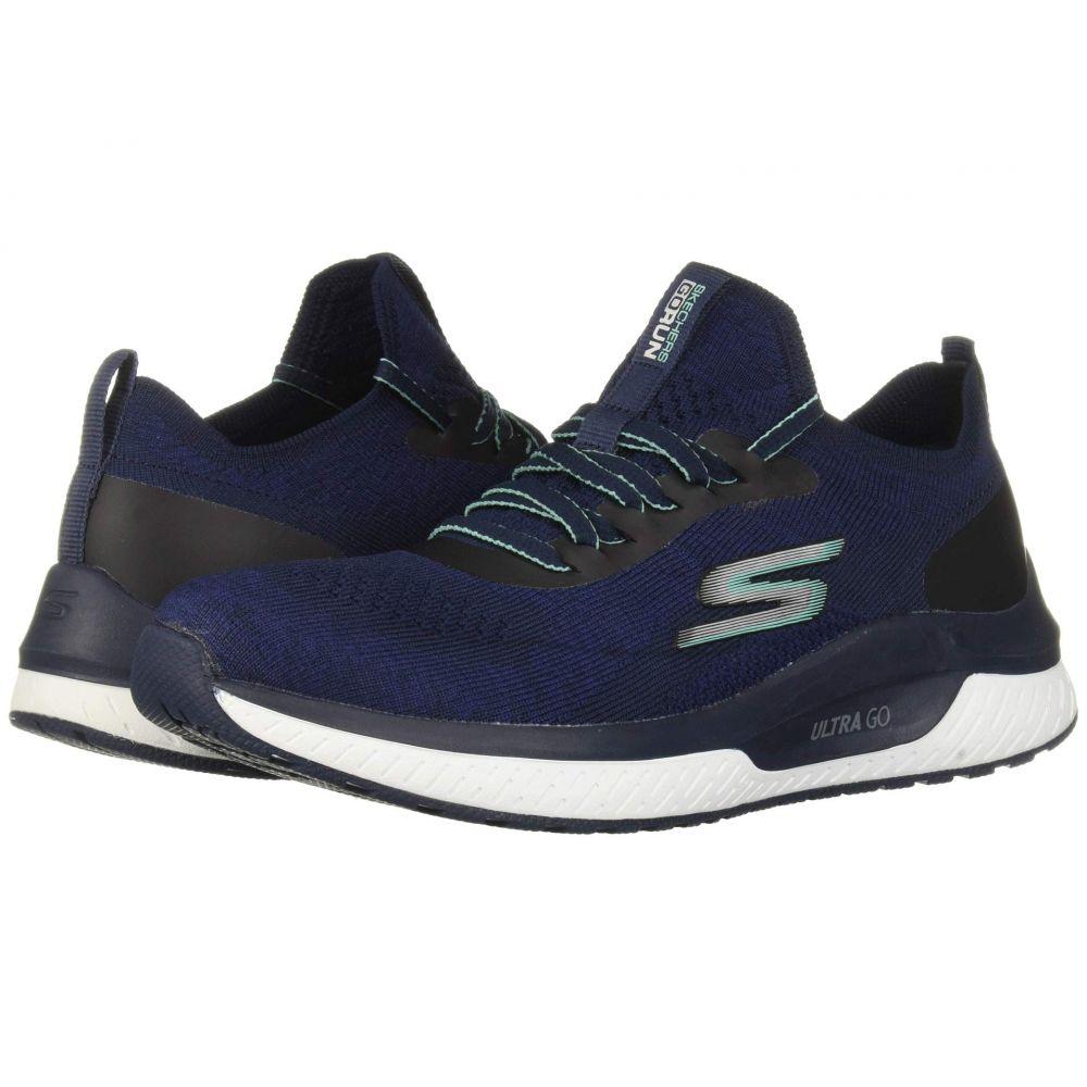 スケッチャーズ SKECHERS レディース ランニング・ウォーキング シューズ・靴【Go Run Steady】Navy/Turquoise