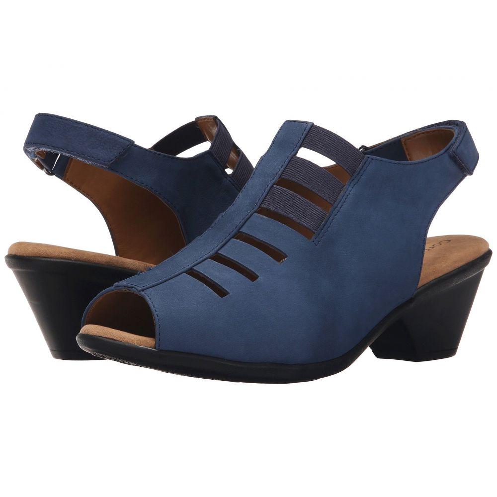 コンフォーティヴァ Comfortiva レディース サンダル・ミュール シューズ・靴【Faye】Denim Otago Nubuck