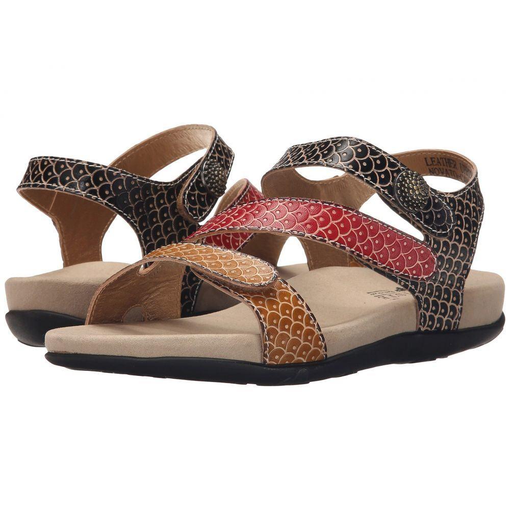 スプリングステップ L'Artiste by Spring Step レディース サンダル・ミュール シューズ・靴【Novato】Camel