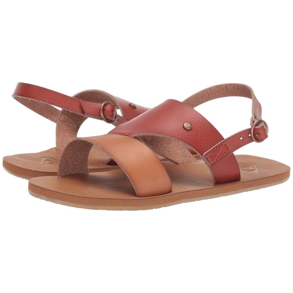 ロキシー Roxy レディース サンダル・ミュール シューズ・靴【Maxine】Burgundy