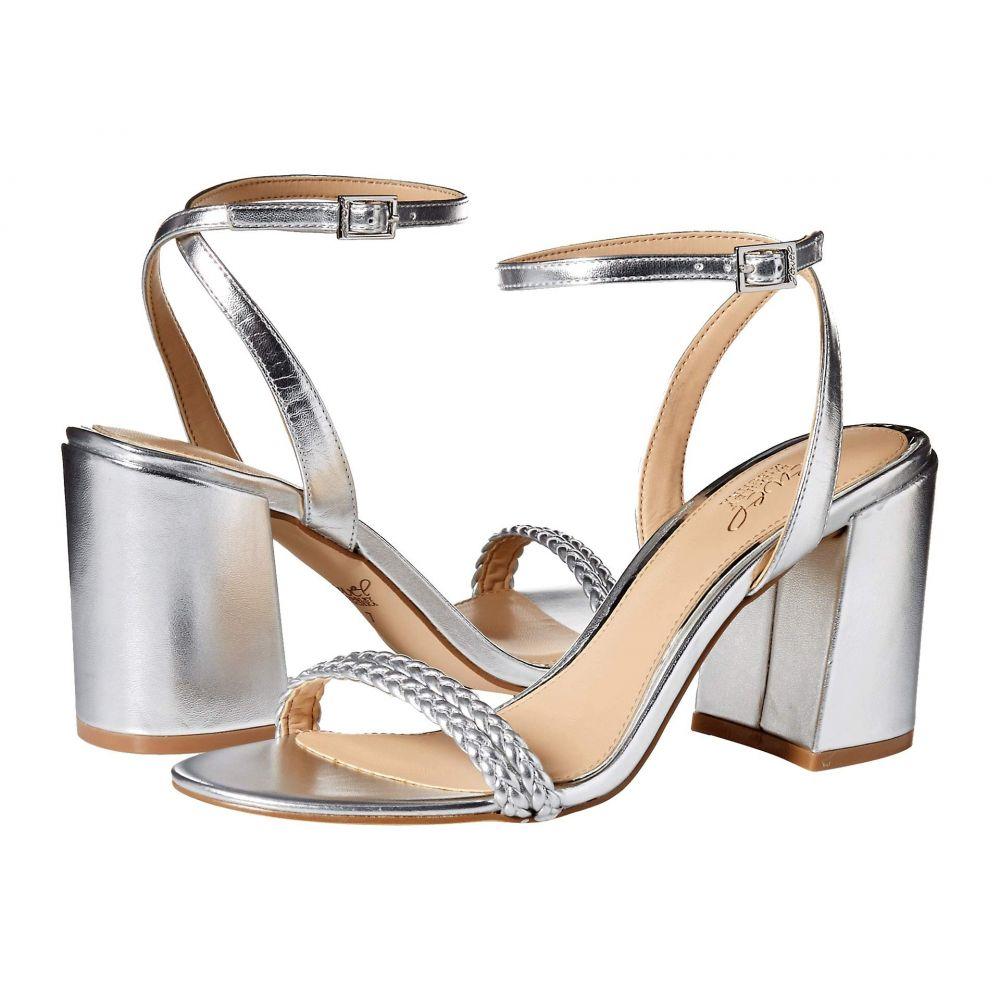 バッジェリー ミシュカ Jewel Badgley Mischka レディース サンダル・ミュール シューズ・靴【Suri】Silver