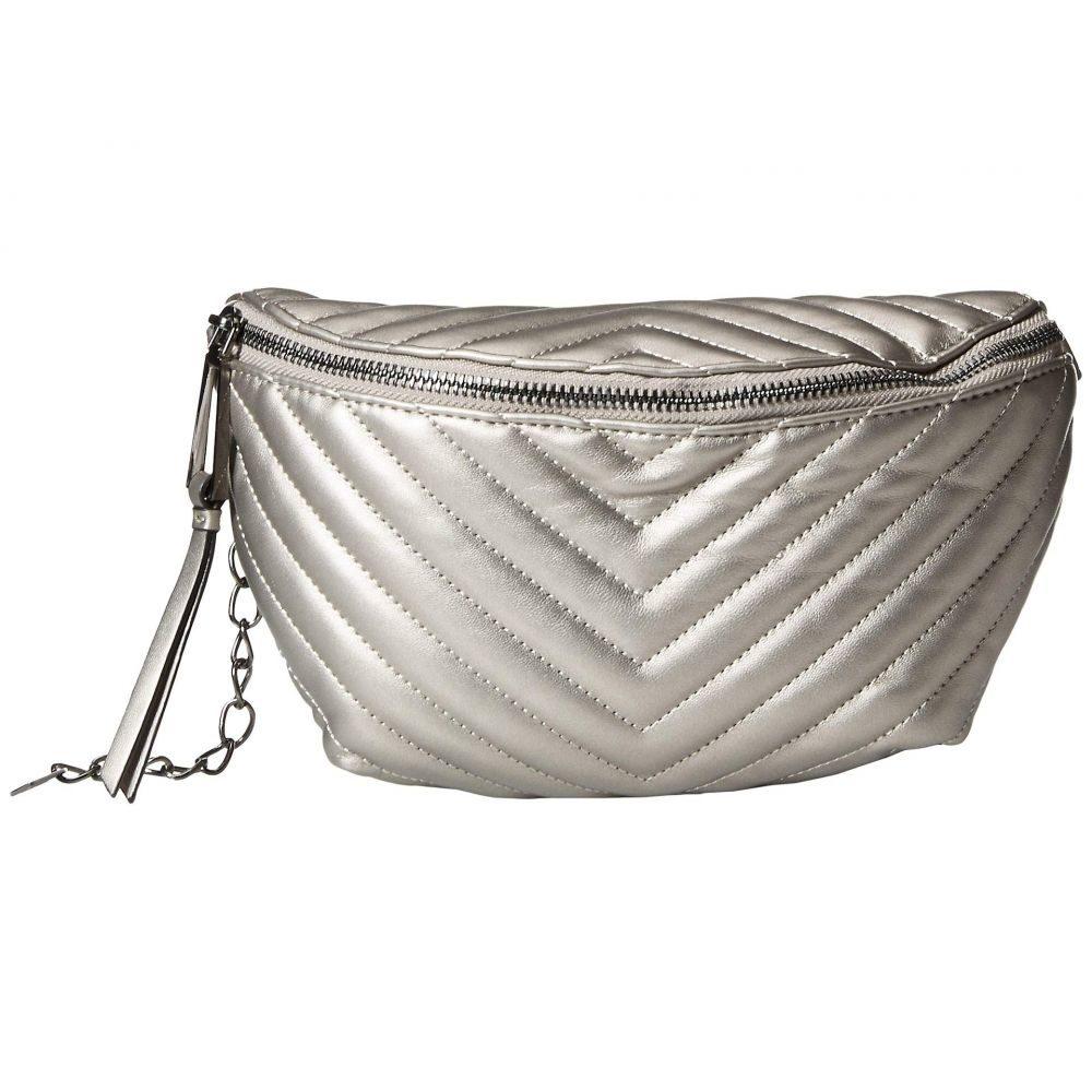 ジェシカシンプソン Jessica Simpson レディース ボディバッグ・ウエストポーチ バッグ【Bobbi Belt Bag】Pewter
