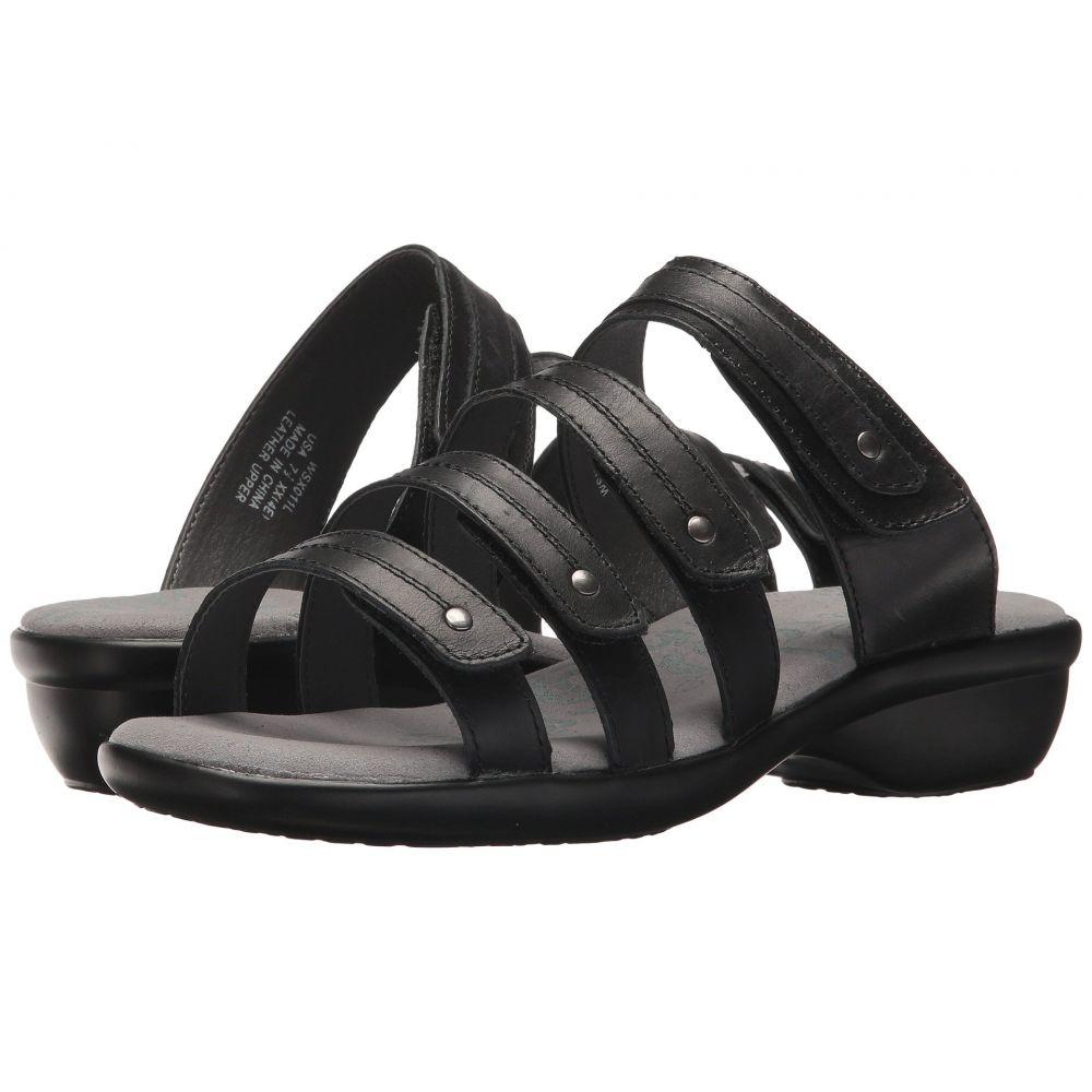 プロペット Propet レディース サンダル・ミュール シューズ・靴【Aurora Slide】Black