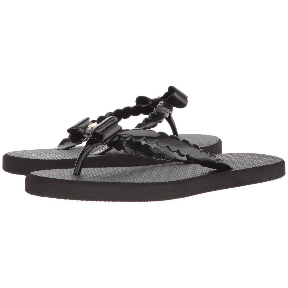 ケイト スペード Kate Spade New York レディース ビーチサンダル シューズ・靴【Denise】Black Rubber