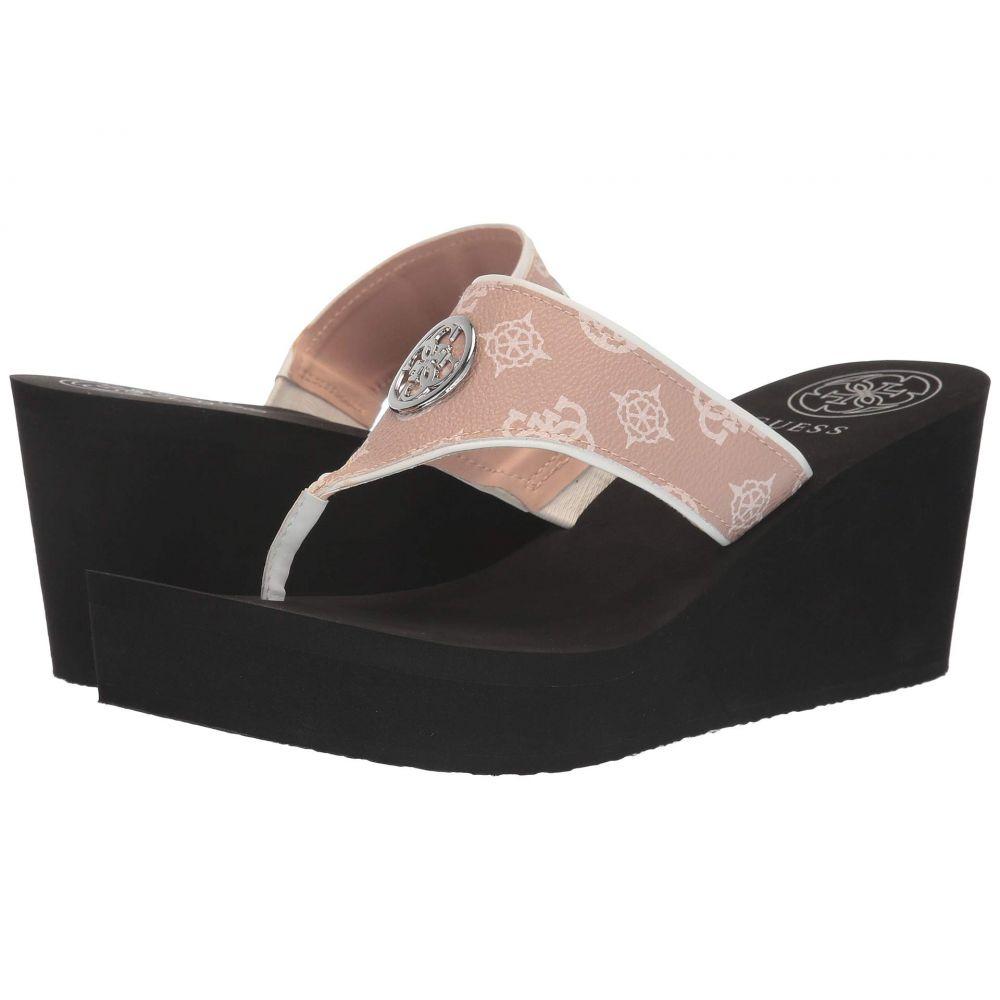 ゲス GUESS レディース サンダル・ミュール シューズ・靴【Solene】Pink