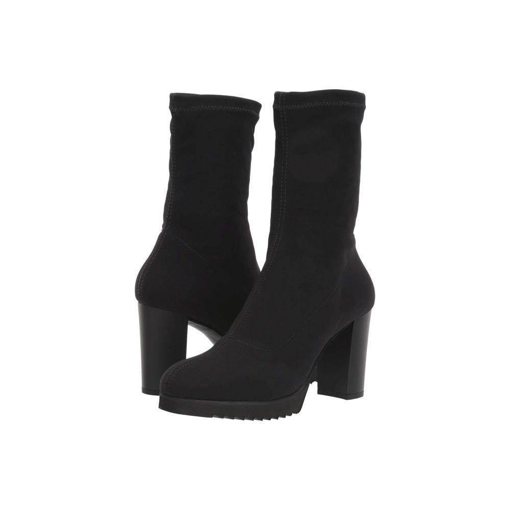 ラ カナディアン La Canadienne レディース ブーツ シューズ・靴【Maddy】Black Micro Stretch