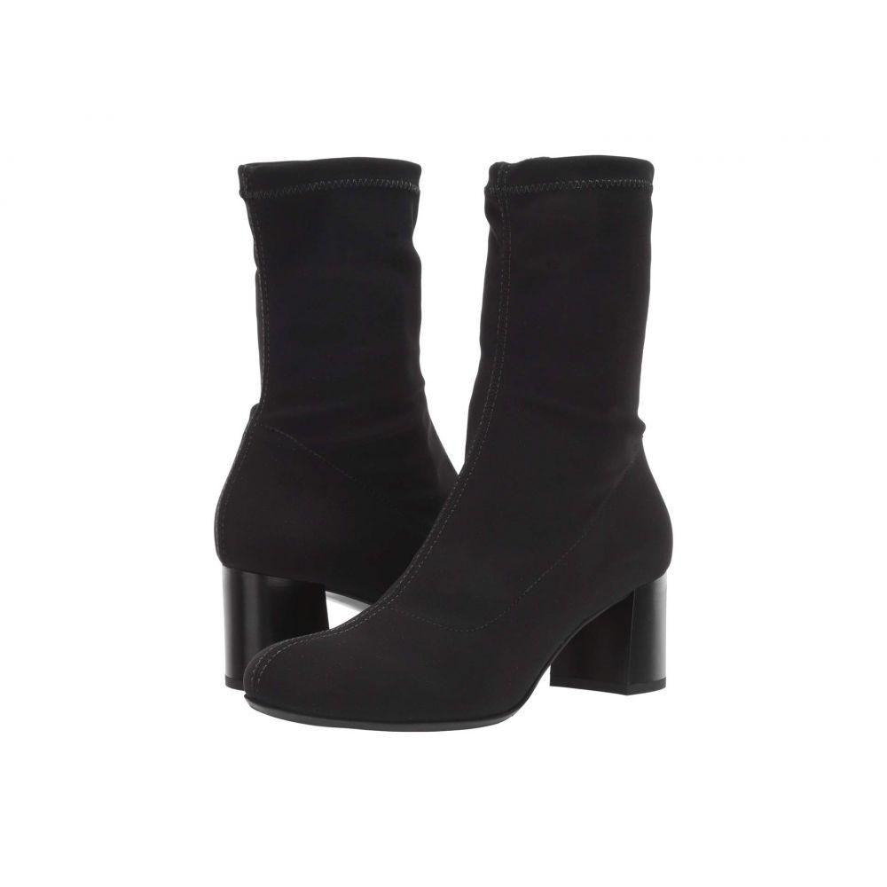 ラ カナディアン La Canadienne レディース ブーツ シューズ・靴【Judy】Black Micro Stretch