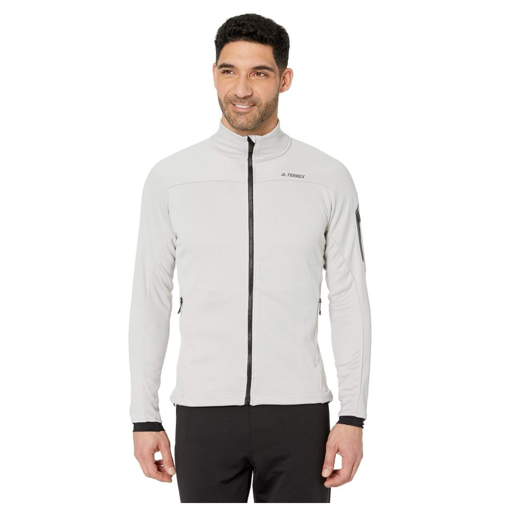 アディダス adidas Outdoor メンズ フリース トップス【Terrex Stockhorn Fleece Jacket】Grey Two