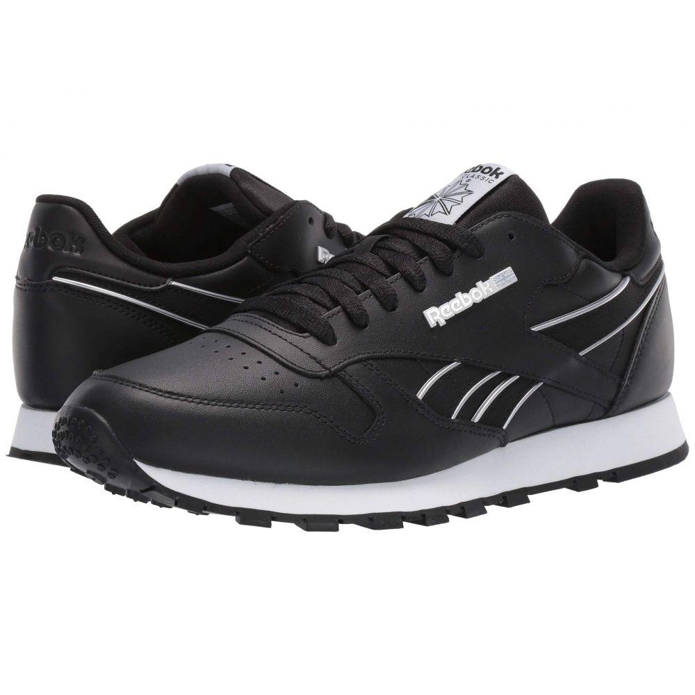 リーボック Reebok Lifestyle メンズ スニーカー シューズ・靴【Classic Leather MU】Black/Cold Grey /White