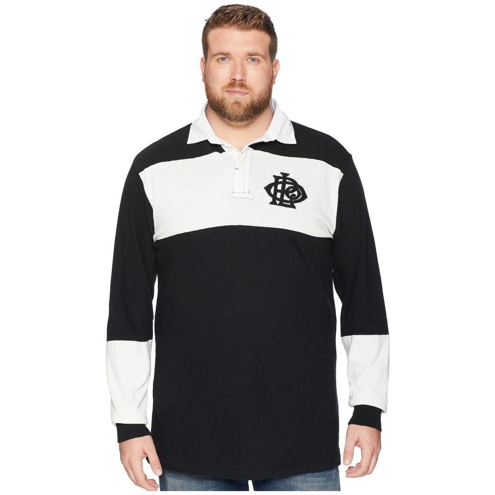ラルフ ローレン Polo Ralph Lauren Big & Tall メンズ ポロシャツ 大きいサイズ トップス【Big & Tall Rugby Polo Shirt】Polo Black/Deckwash White