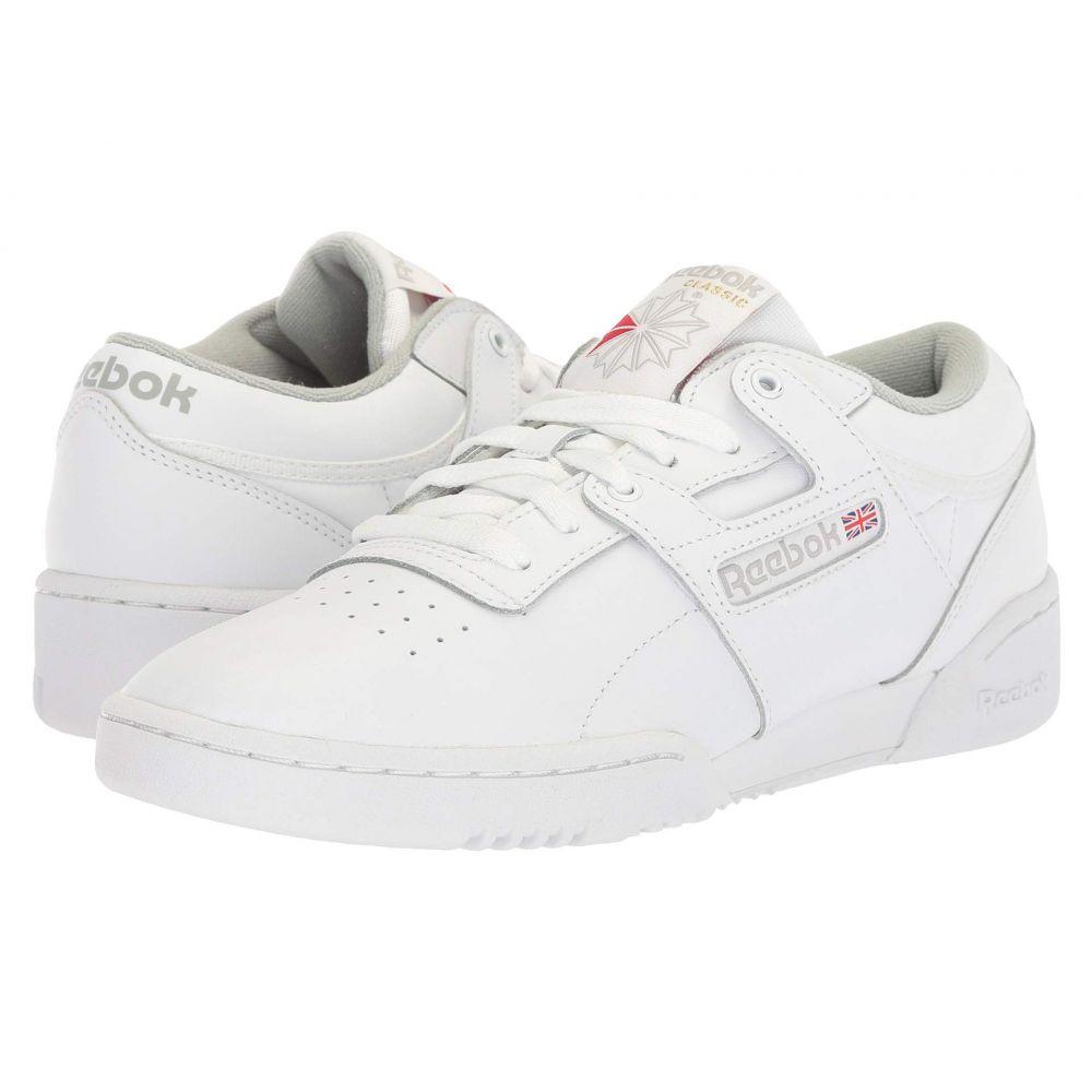 リーボック Reebok Lifestyle メンズ スニーカー シューズ・靴【Workout Low】White/Grey