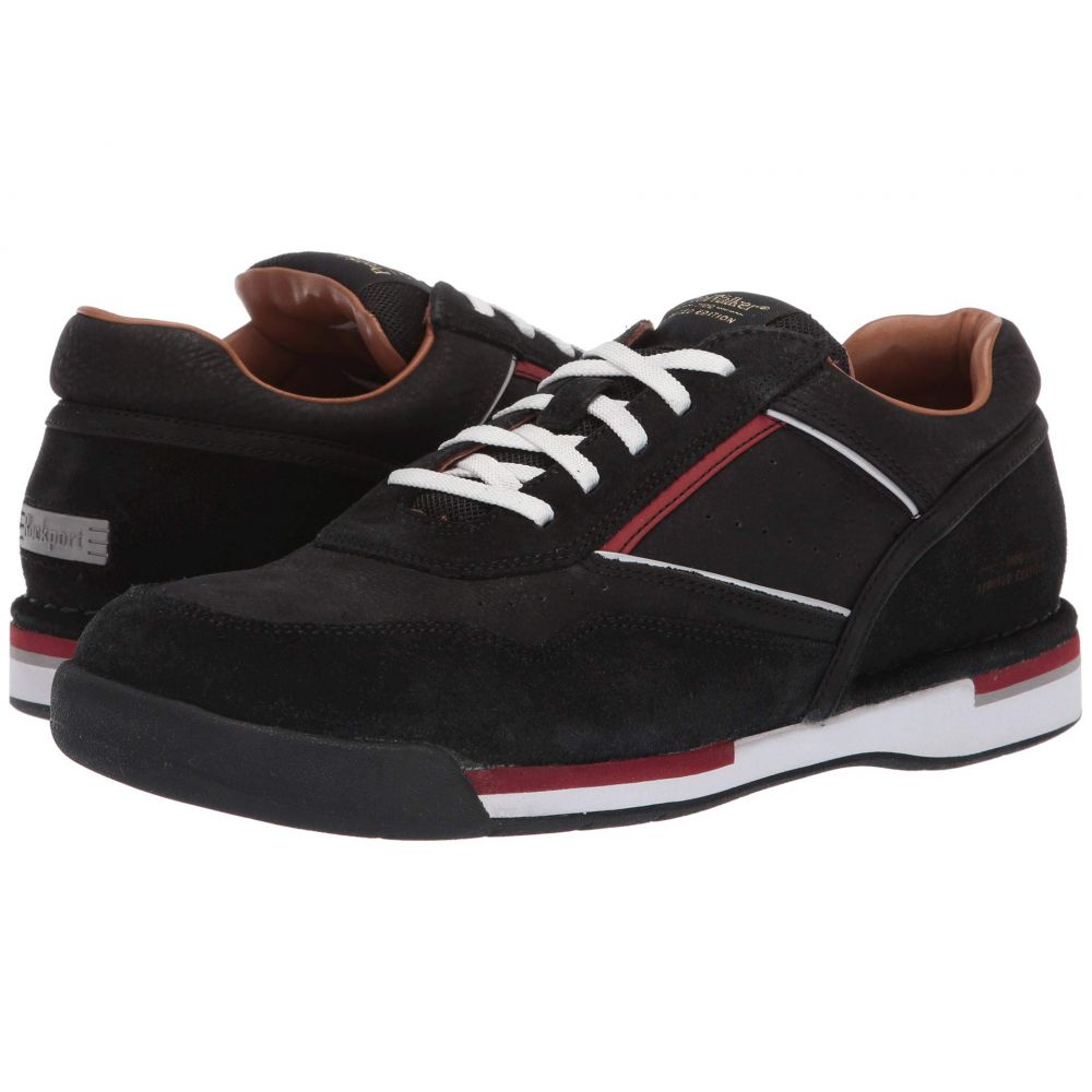 ロックポート Rockport メンズ スニーカー シューズ・靴【Prowalker 7100 LTD】Black Nubuck Suede