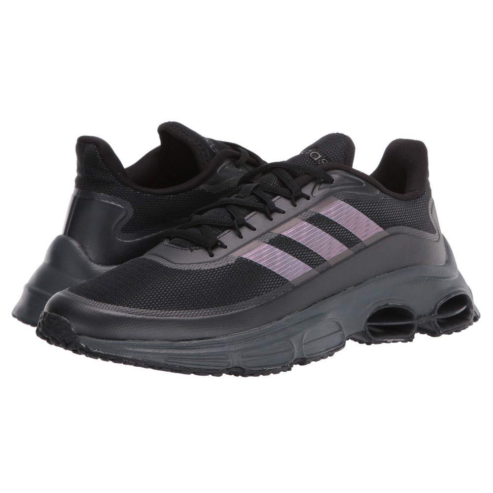 アディダス adidas メンズ スニーカー シューズ・靴【Quadcube】Core Black/Core Black/Signal Coral