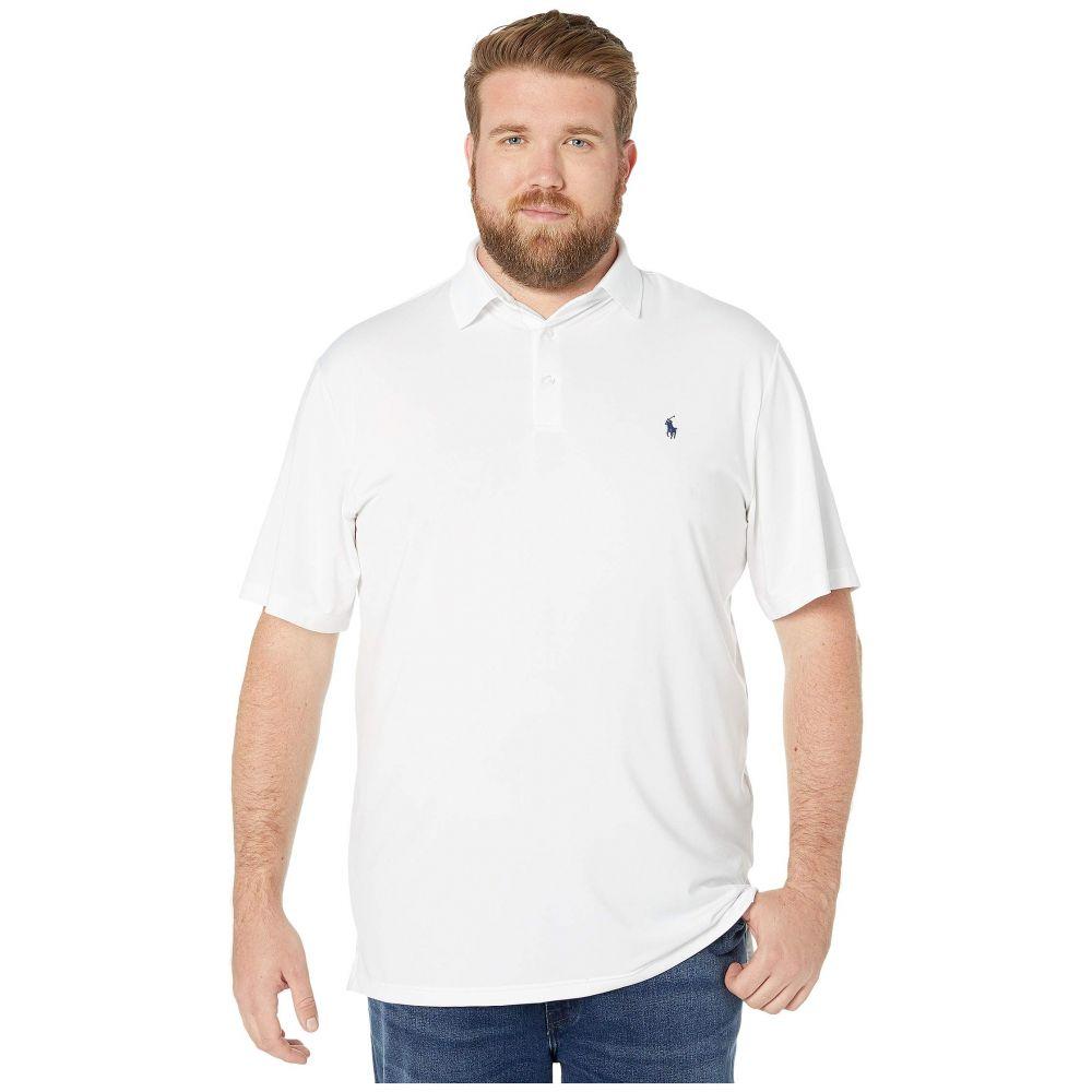 ラルフ ローレン Polo Ralph Lauren Big & Tall メンズ ポロシャツ 大きいサイズ 半袖 トップス【Big & Tall Short Sleeve Performance Polo】Pure White
