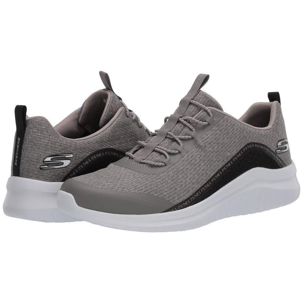 スケッチャーズ SKECHERS メンズ スニーカー シューズ・靴【Ultra Flex Degley】Gray/Black