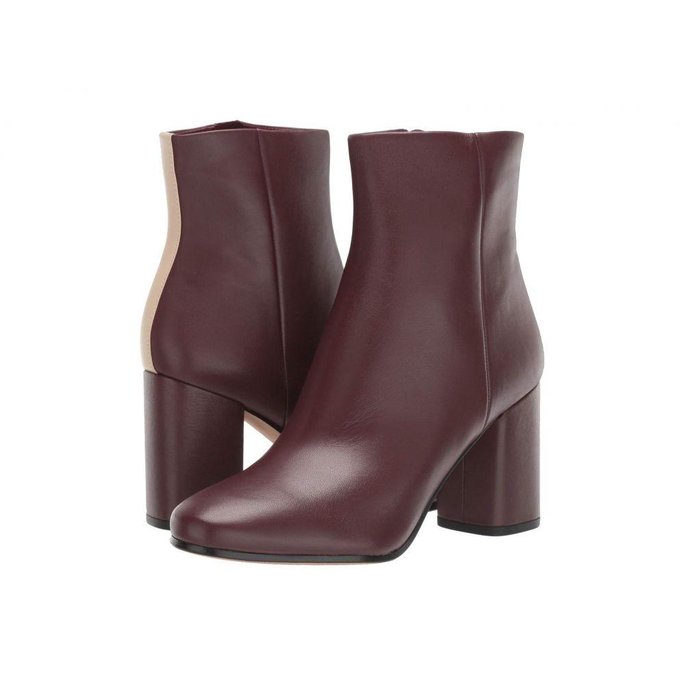 ダイアン フォン ファステンバーグ Diane von Furstenberg レディース ブーツ シューズ・靴【Robyn】Burgundy/Linen Leather