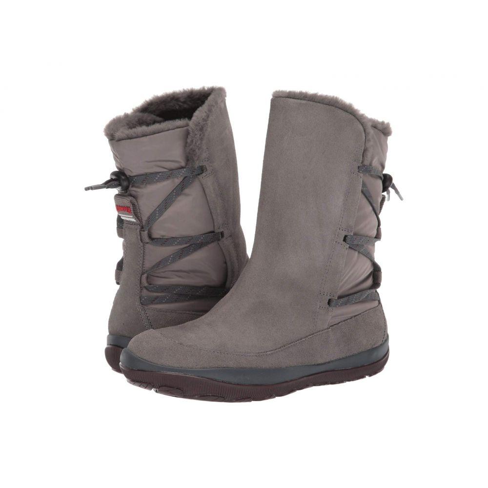 カンペール Camper レディース ブーツ シューズ・靴【Peu Pista Mid】Grey