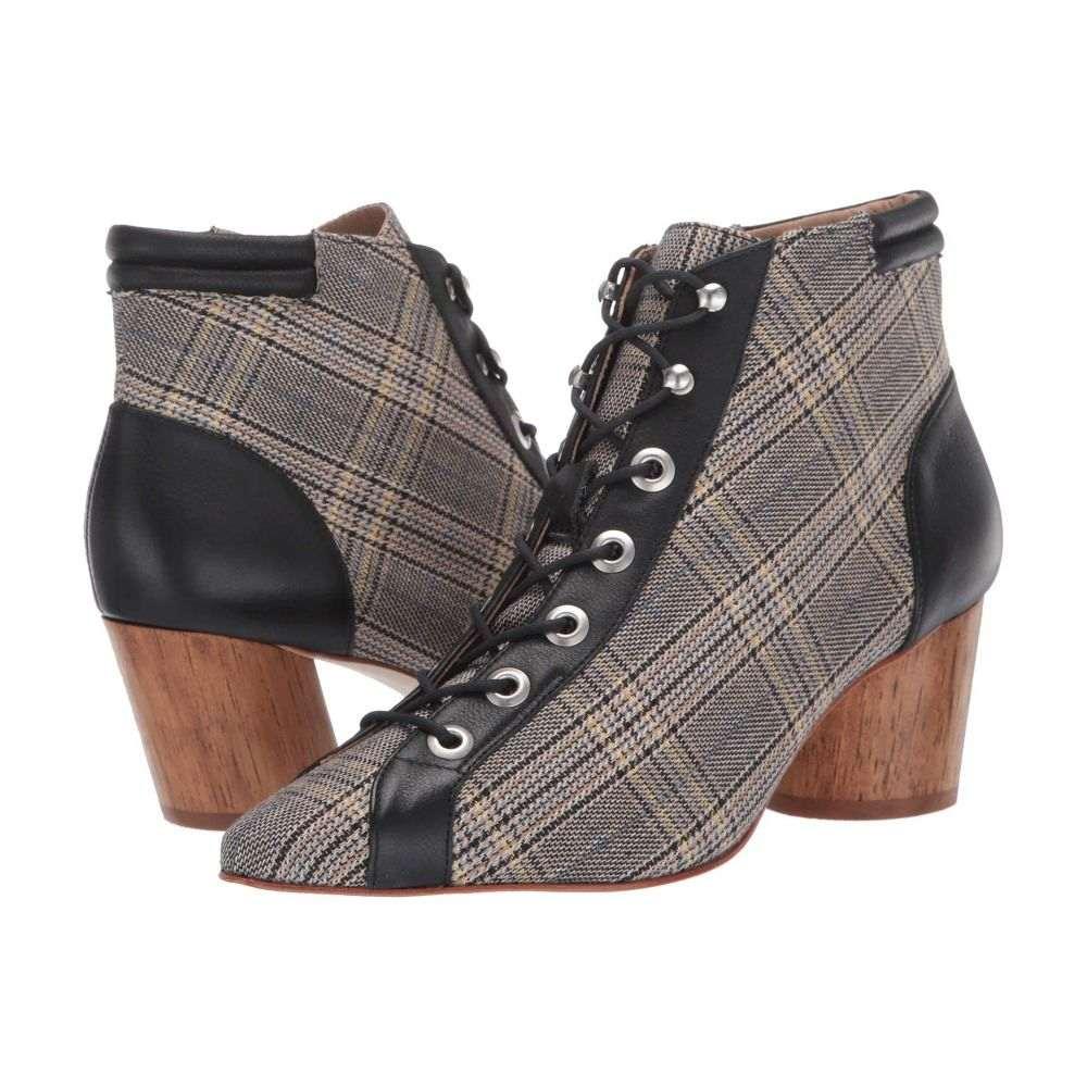 ベルナルド Bernardo レディース ブーツ シューズ・靴【Francie】Glen Plaid/Black Fabric