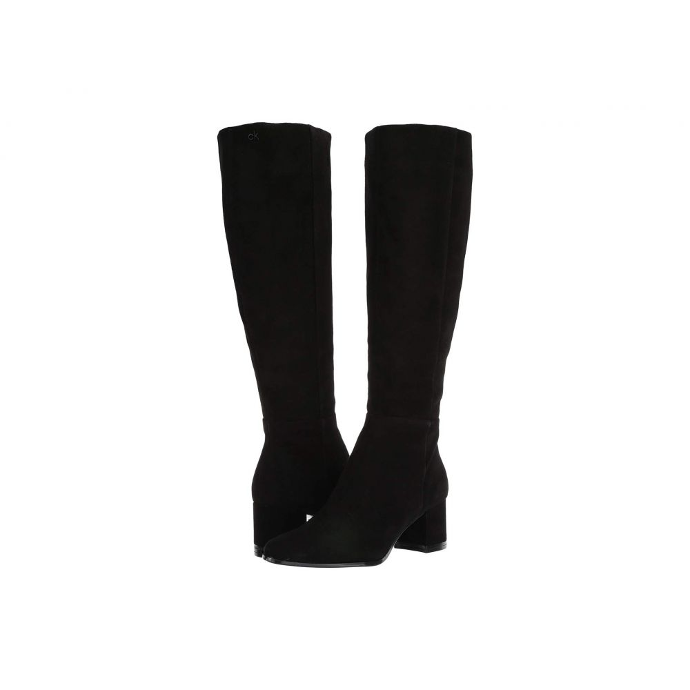 カルバンクライン Calvin Klein レディース ブーツ シューズ・靴【Freeda】Black Suede