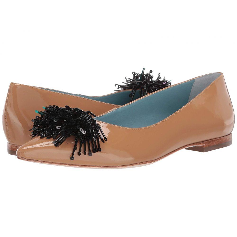フランシス ヴァレンタイン Frances Valentine レディース スリッポン・フラット シューズ・靴【Paige】Camel Soft Patent