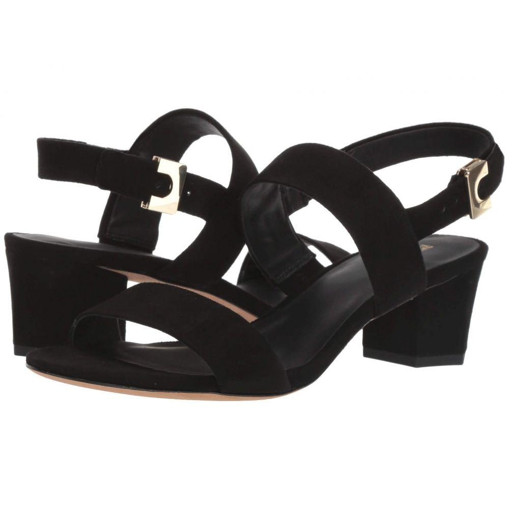 ダイアン フォン ファステンバーグ Diane von Furstenberg レディース サンダル・ミュール シューズ・靴【Link Sandal】Black Suede