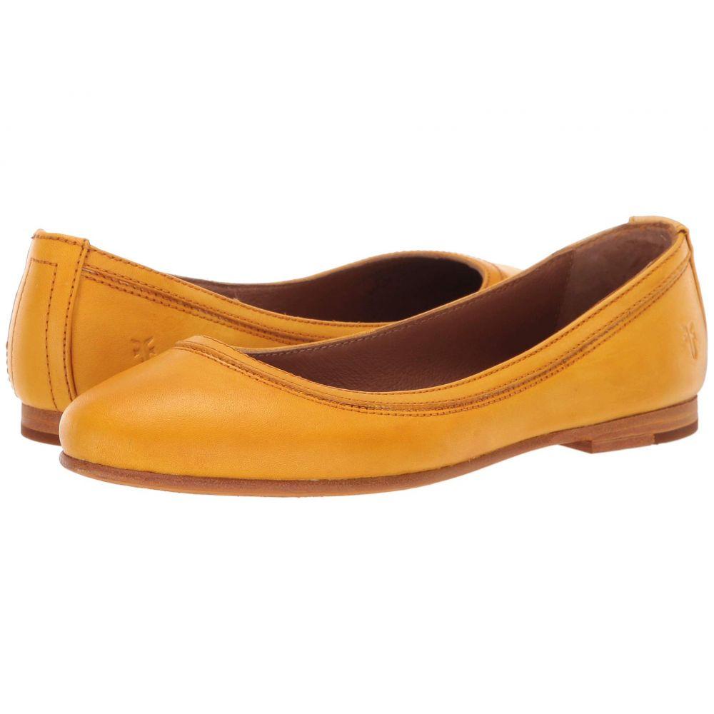 フライ Frye レディース スリッポン・フラット シューズ・靴【Carson Ballet】Yellow