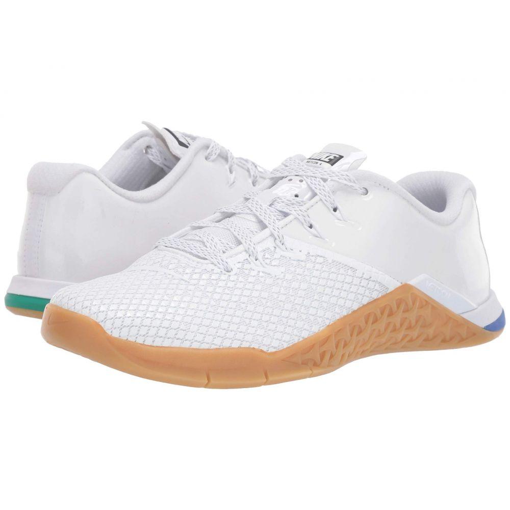 ナイキ Nike レディース スニーカー シューズ・靴【Metcon 4 XD X】White/White/Gum Medium Brown