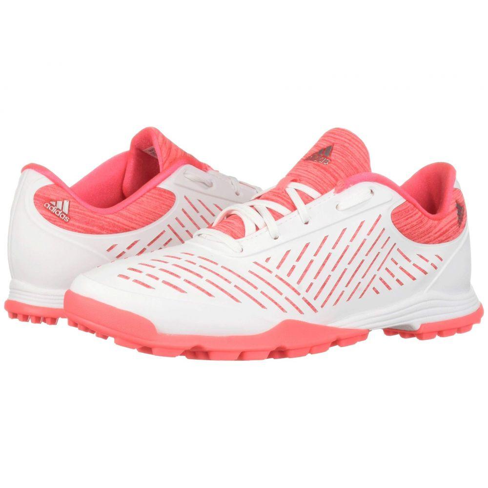 アディダス adidas Golf レディース スニーカー シューズ・靴【Adipure Sport 2】Footwear White/Red Zest/Active Pink