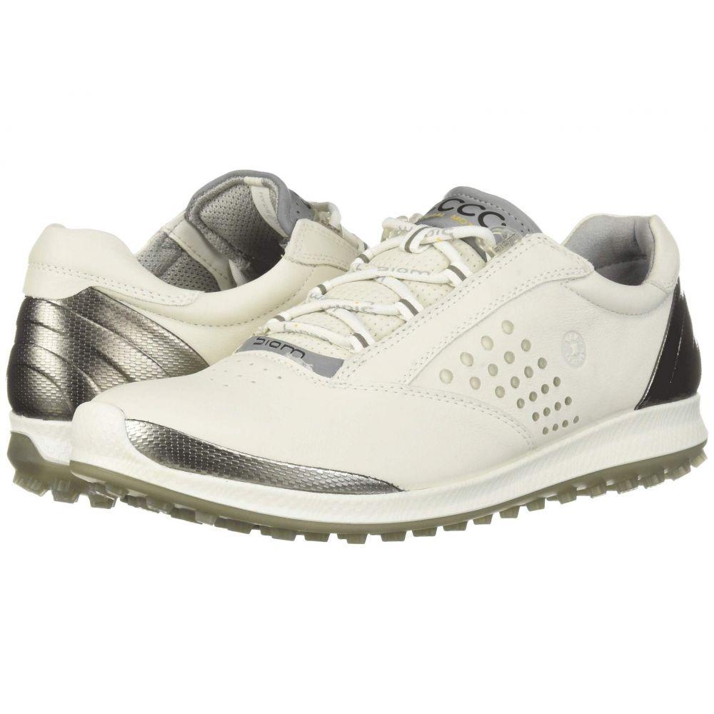 エコー レディース ゴルフ シューズ・靴 White 【サイズ交換無料】 エコー ECCO Golf レディース ゴルフ シューズ・靴【Biom Hybrid 2 Hydromax】White