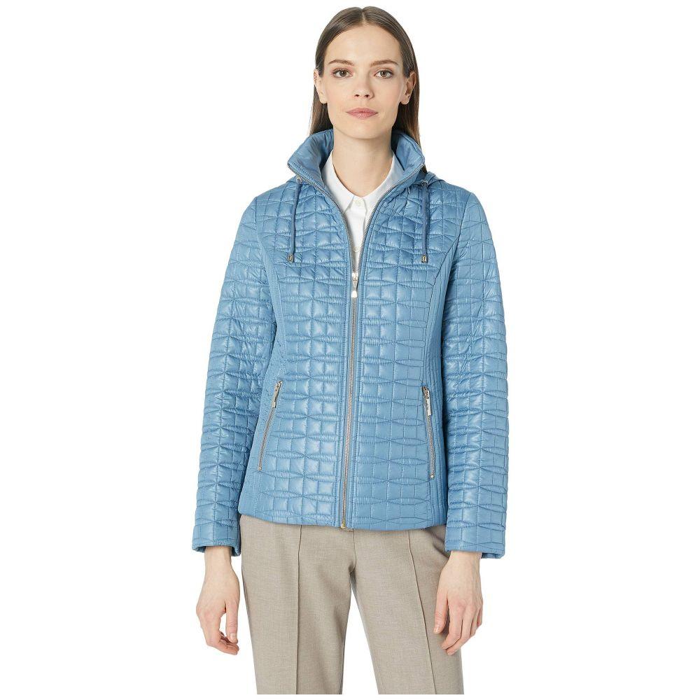 ケイト スペード Kate Spade New York レディース ダウン・中綿ジャケット アウター【Quilted Jacket】Copen Blue