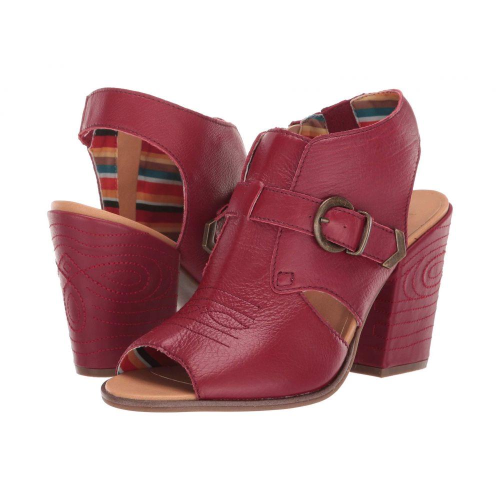 ディンゴ Dingo レディース ブーツ シューズ・靴【Stirrup】Red