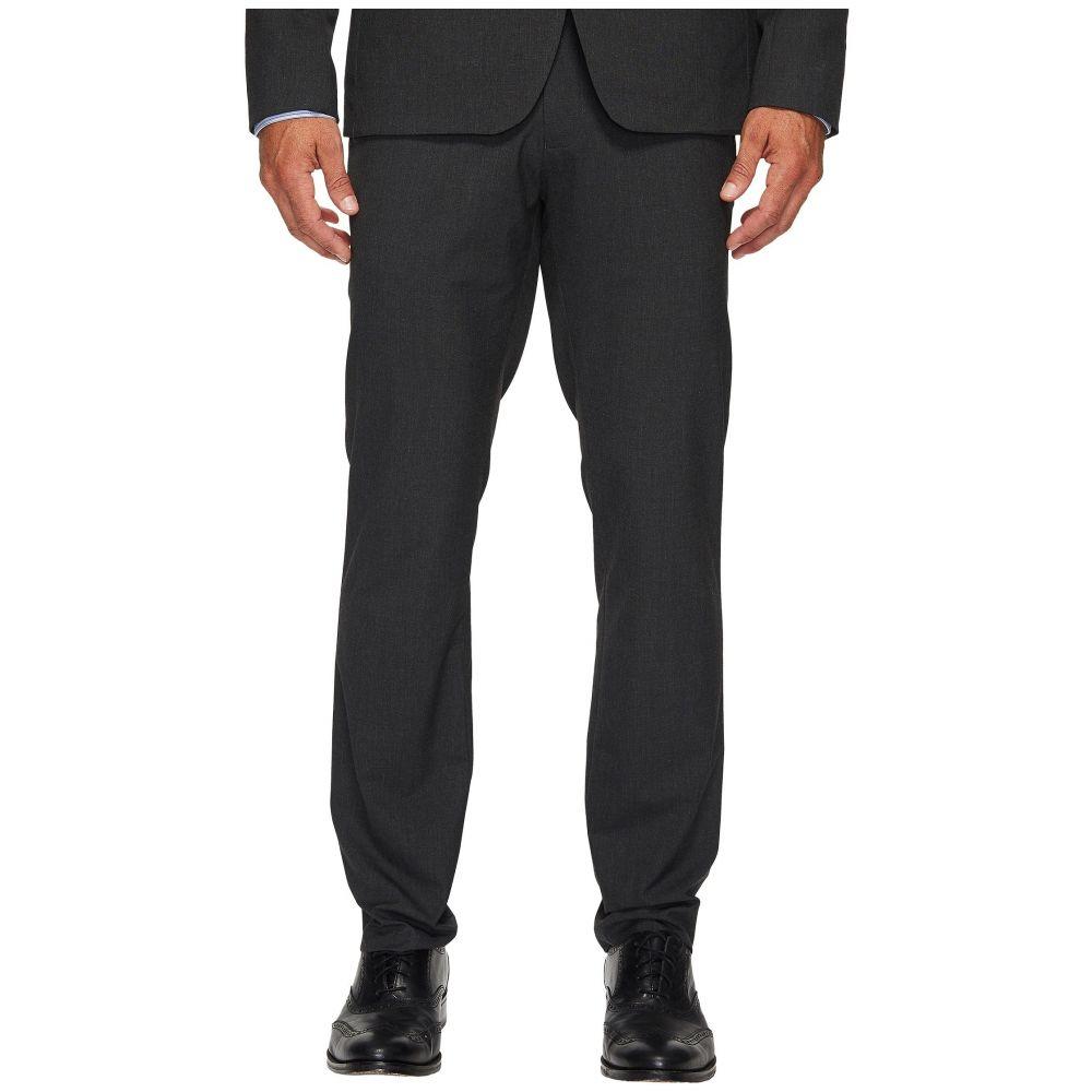 カルバンクライン Calvin Klein メンズ スキニー・スリム ボトムス・パンツ【Slim Fit End on End Bi-Stretch Pants】Iron Gate