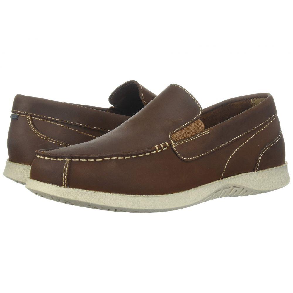 ナンブッシュ Nunn Bush メンズ スリッポン・フラット モックトゥ シューズ・靴【Bayside Lites Venetian Moc Toe Slip-On】Brown