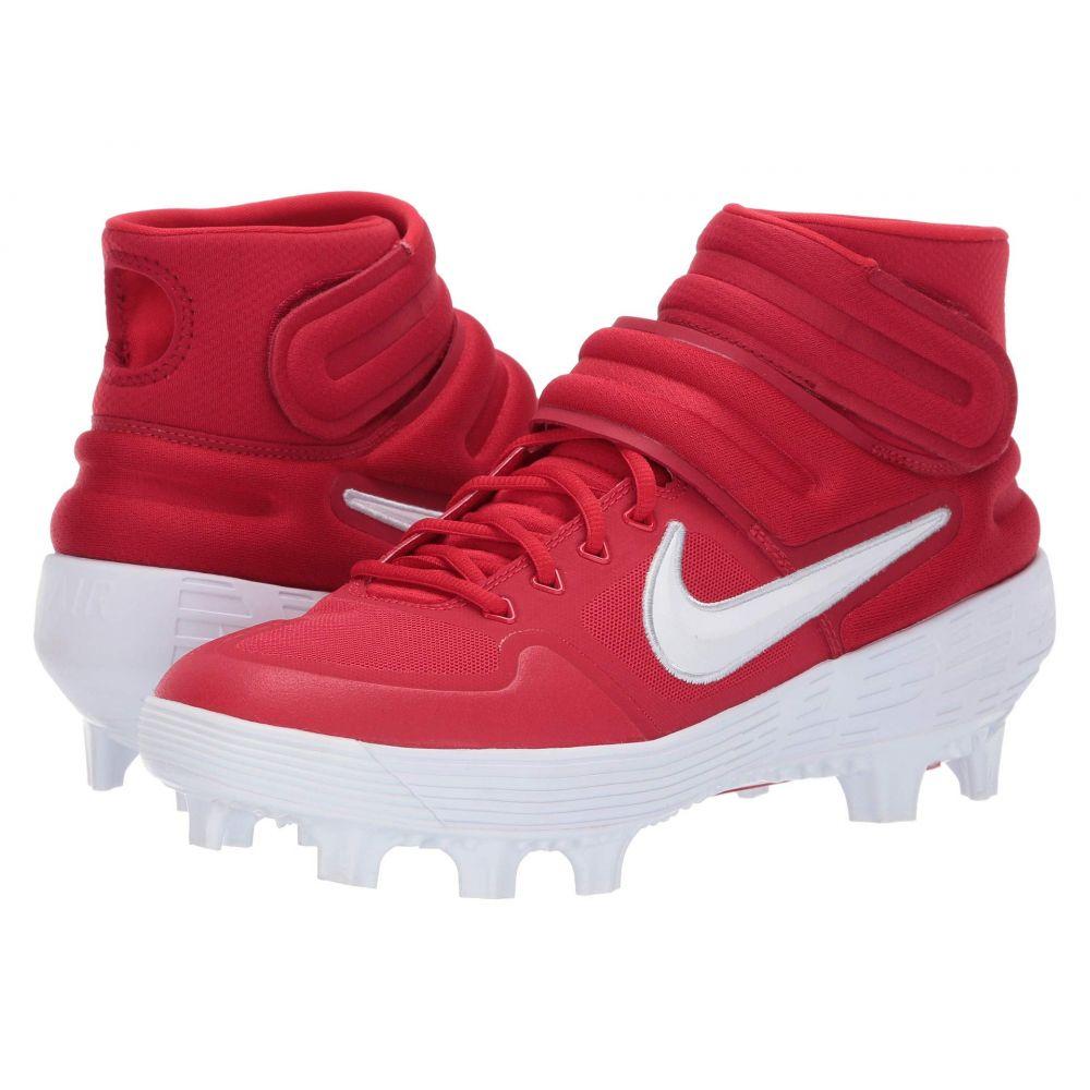 ナイキ Nike メンズ 野球 シューズ・靴【Alpha Huarache Elite 2 Mid MCS】University Red/White/Gym Red