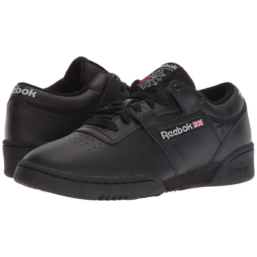 リーボック Reebok Lifestyle メンズ スニーカー シューズ・靴【Workout Low】Black/Light Grey
