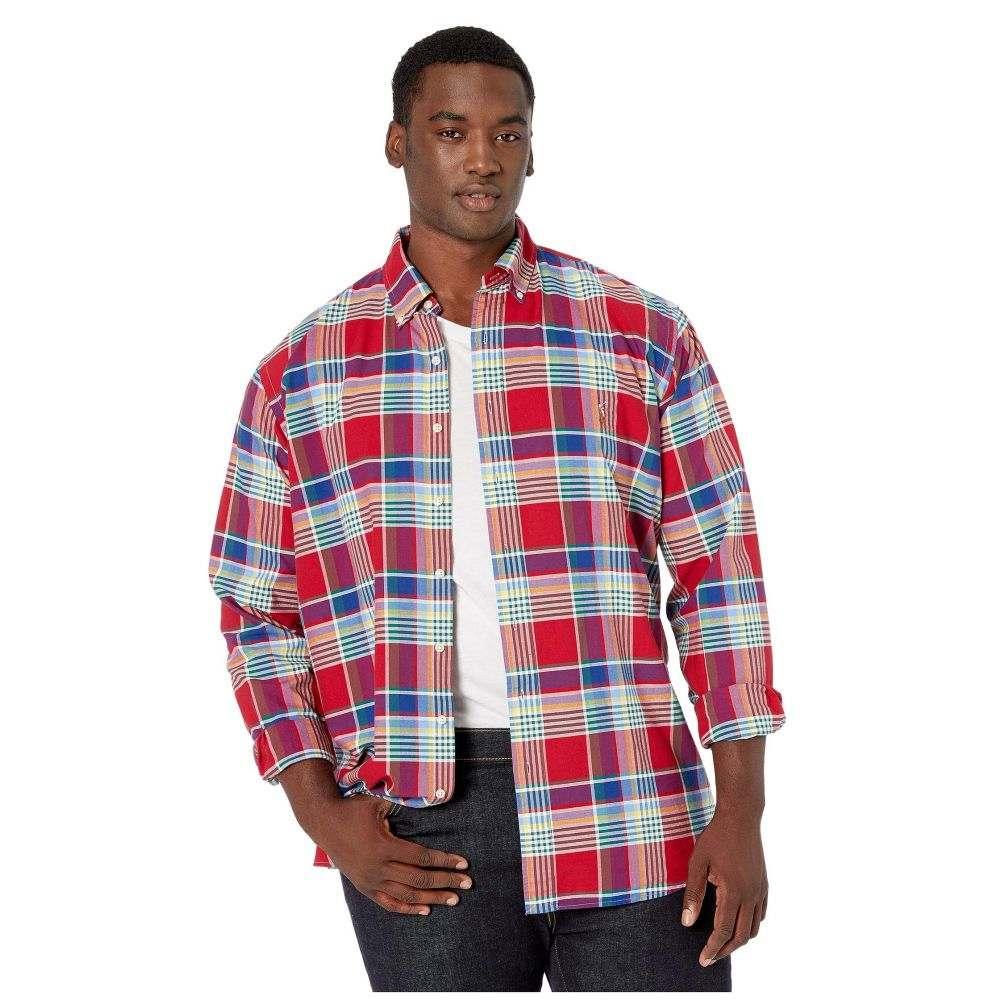 ラルフ ローレン Polo Ralph Lauren Big & Tall メンズ シャツ 大きいサイズ トップス【Big & Tall Long Sleeve Plaid Oxford Shirt】Red Multi