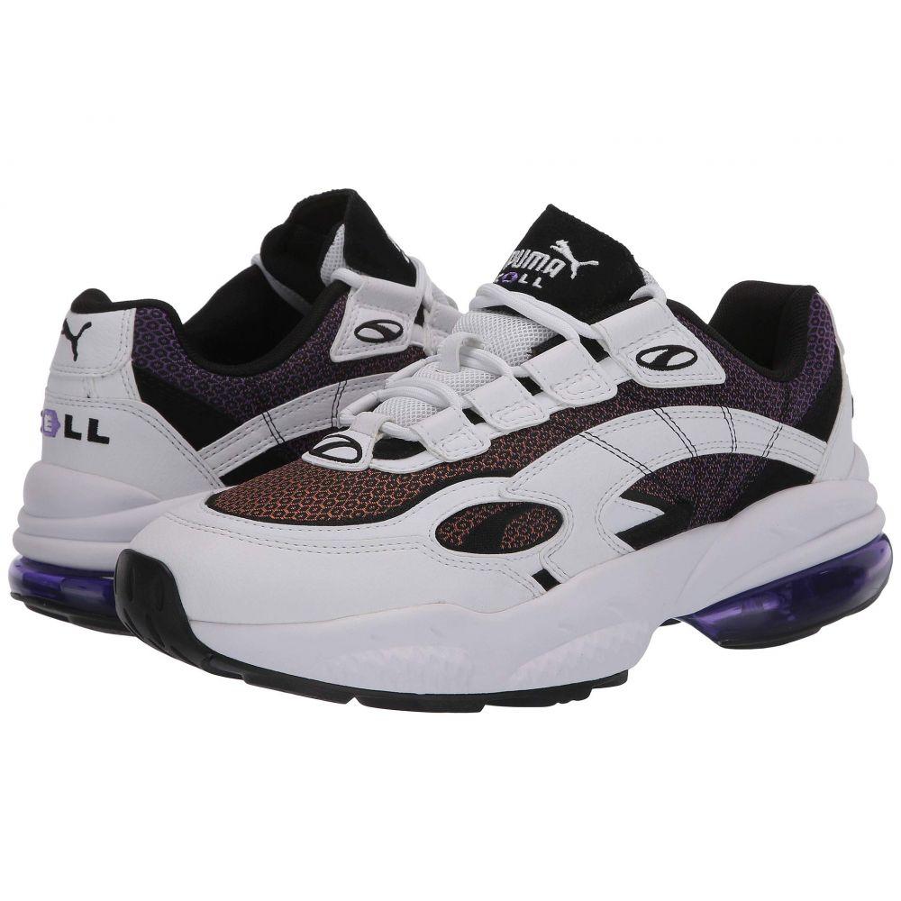 プーマ PUMA メンズ スニーカー シューズ・靴【Cell Venom Lux】Puma White/Purple Glimmer