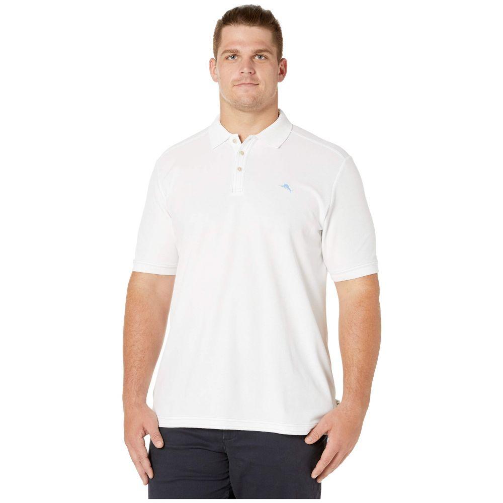 トミー バハマ Tommy Bahama Big & Tall メンズ ポロシャツ 大きいサイズ トップス【Big & Tall Emfielder 2.0 Polo】Bright White