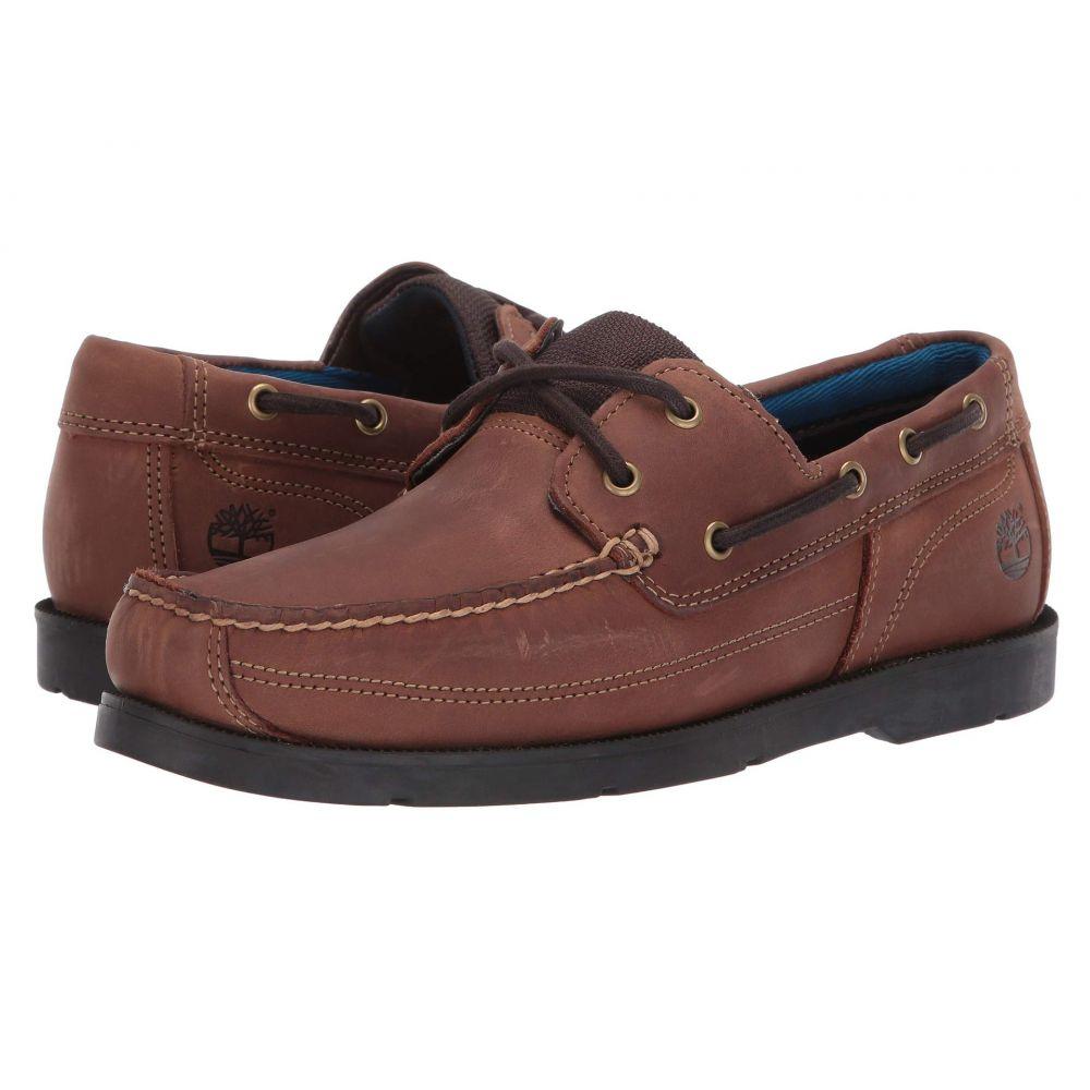 ティンバーランド Timberland メンズ デッキシューズ シューズ・靴【Piper Cove Leather Boat Shoe】Medium Brown Full Grain