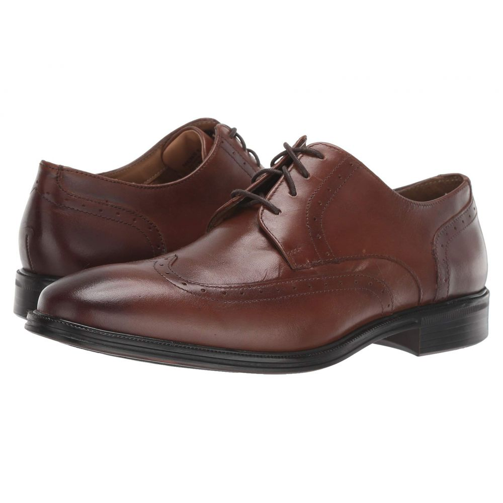 ナンブッシュ Nunn Bush メンズ 革靴・ビジネスシューズ ウイングチップ シューズ・靴【Friar Wing Tip Oxford】Cognac