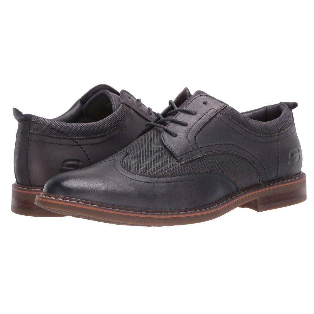 スケッチャーズ SKECHERS メンズ 革靴・ビジネスシューズ シューズ・靴 BregmanModeso Charcoalbfy7gI6vY