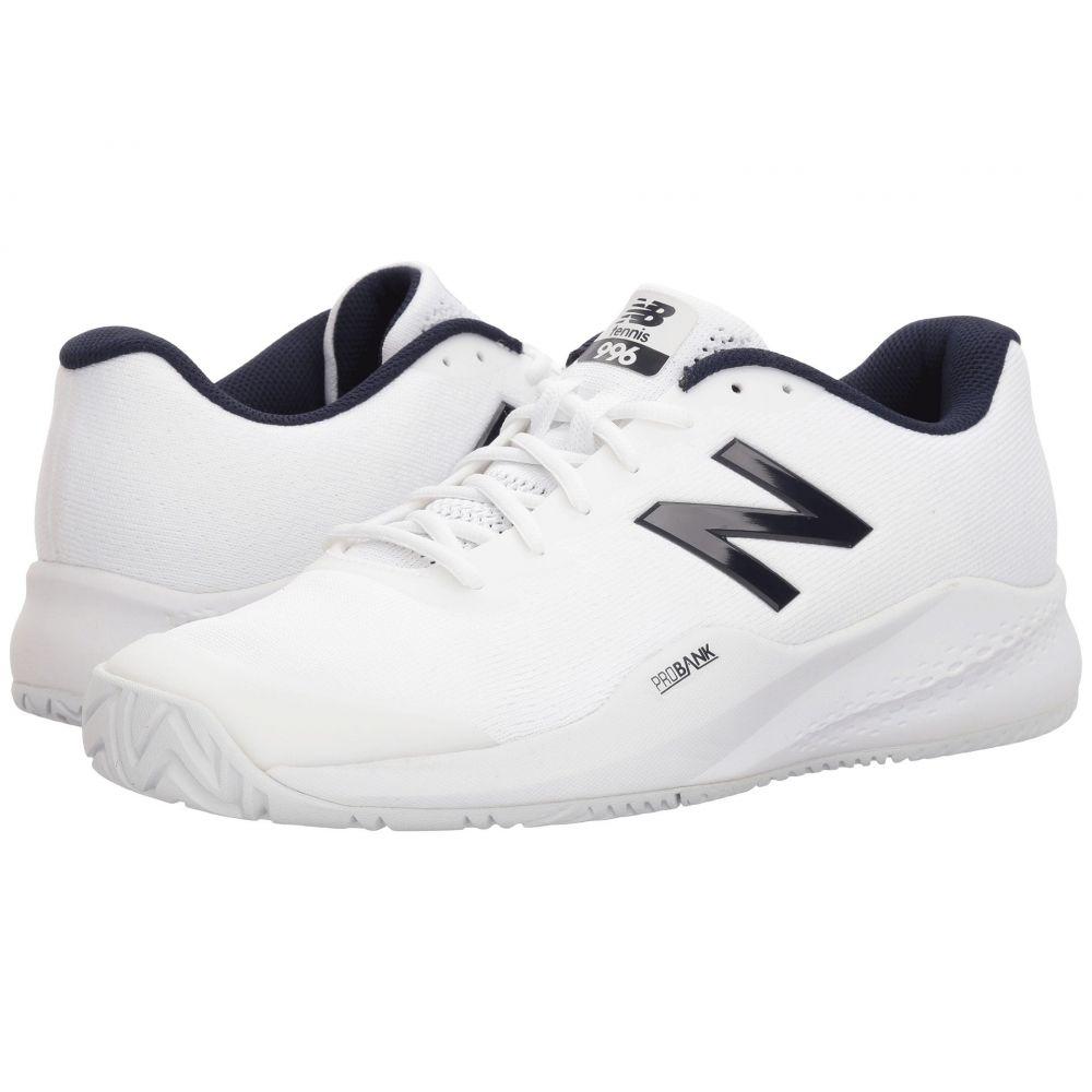ニューバランス New Balance メンズ テニス シューズ・靴【996v3】White/White