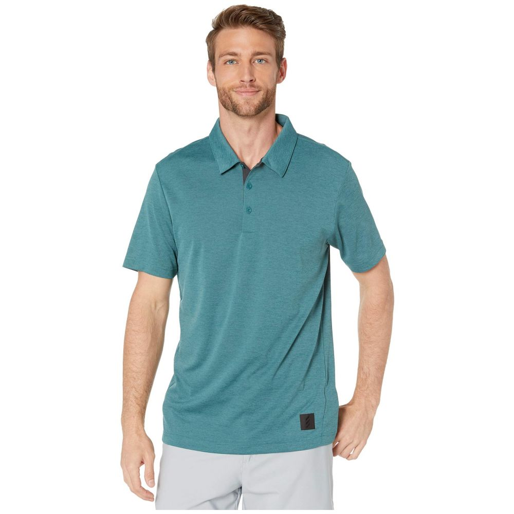 アディダス adidas Golf メンズ ポロシャツ トップス【Adicross No Show Transition Polo】Tech Green Melange